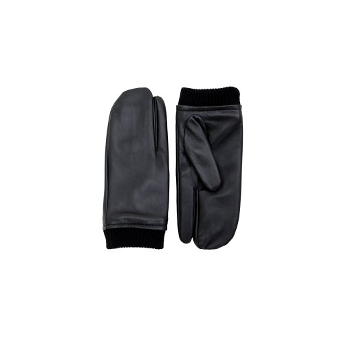 FENNEC LEATHER TIMI GLOVES - BLACK