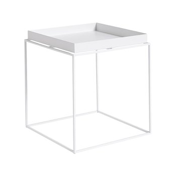 Tray Table 40*40 White