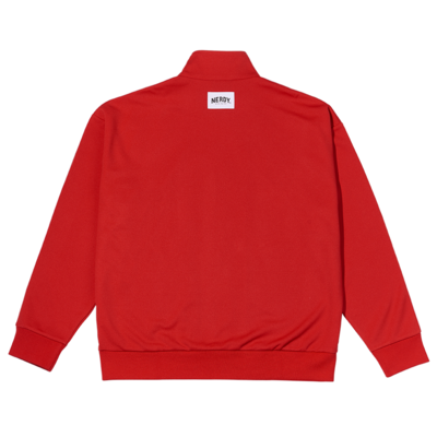 Logo Tape Track Top Red