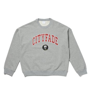 CITYFADE GRAPHIC SWEAT 그레이