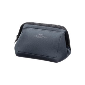 WIRED POUCH Small Dark Gray x Green
