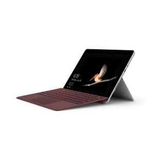 Surface Go Signature Type Cover 버건디