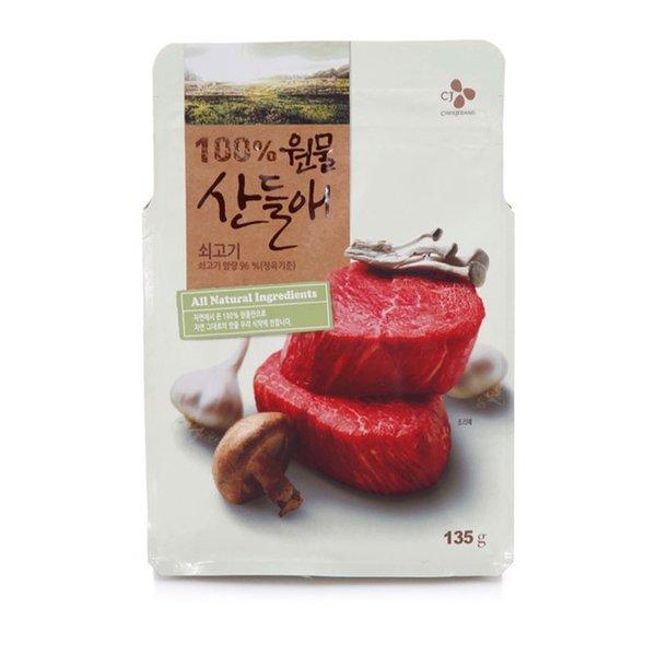 [CJ] 원물 산들애 쇠고기 135g