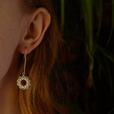 Blooming Bar Earring