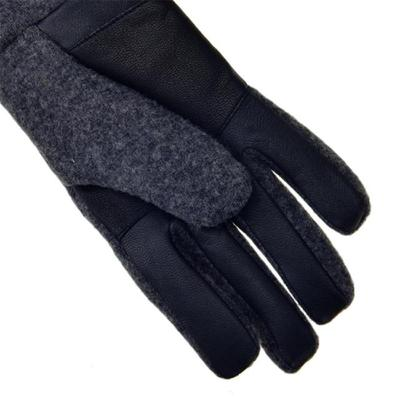 [어그]남성 FABRIC AND LEATHER GLOVE CHARCOAL 17431