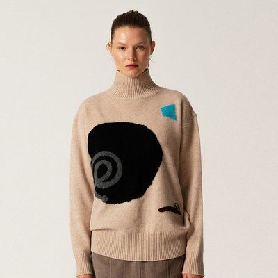 WK_Intarsia Turtleneck Top_BE