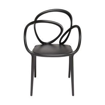 Loop Chair Black Single