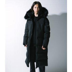 N194UDW300 (공용) 우라누스 FUR GOOSE DOWN JP  CARBON BLACK