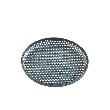 PERFORATED TRAY S DARK GREEN