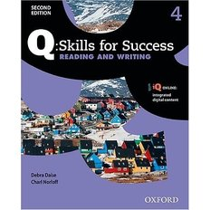 Q Skills for Success Reading and Writing Level 4 Student Book with iQ online (Paperback / 2nd Ed.)