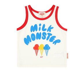 Milk monster color block tank top (BP0232335)