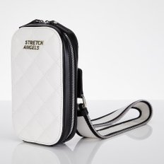 ★SUMR12911★Waffle handy bag_OFFWHITE