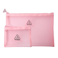 PINK RUMOUR MESH POUCH