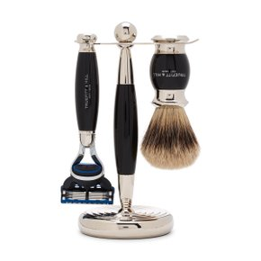 EDWARDIAN SHAVING SET Ebony (Fusion)