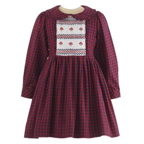 Toadstool Smocked Dress