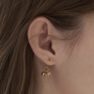 Blooming Gold Earrings