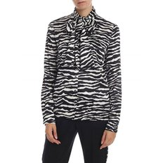 [패로슈] Zebra printed shirt in black and white silk (SEBRA D380453 802)