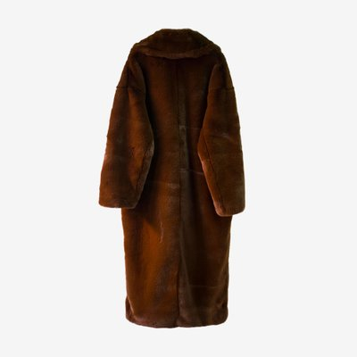 TOO COOL FOR FUR 투쿨포퍼 GIULIA COAT 035 BROWN