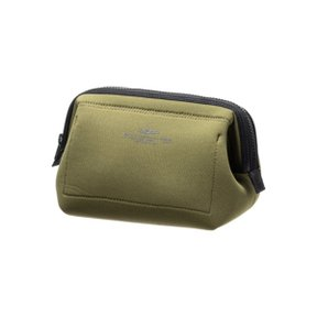 WIRED POUCH Small Olive x Yellow