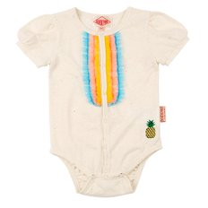 Colorful tulle baby bodysuit / BP7216231
