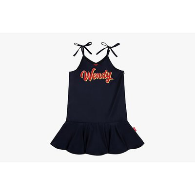 [40% SALE] Navy satin slip dress