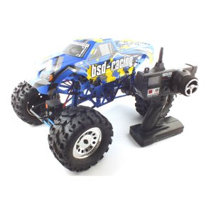 [2.4GHz]1/10 Brushed Groundpounder Monster Truck RTR (BSD091045BL) 전동 락크라울러 R/C