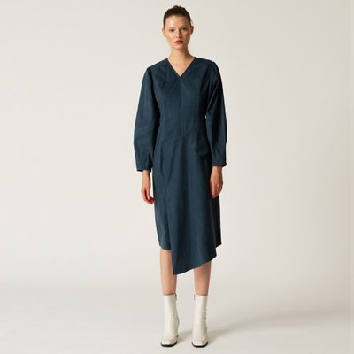 Cocoon Sleeve Dress_NA