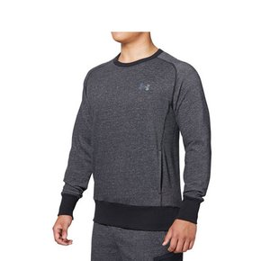 [UA] MTR3387 BLK UA ALL DAY SWEAT CREW