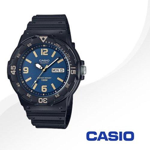 b737a9e99ff 카시오 CASIO MRW-200H-2B3 남성용 우레탄밴드 아날로그시계