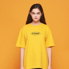 ANOTHER FRAME - CIRCLE FRAME T-SHIRT (YELLOW) 반팔티