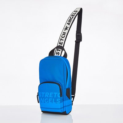 스트레치엔젤스[M.E.S.H] One pocket SQ sling-bag (Blue)