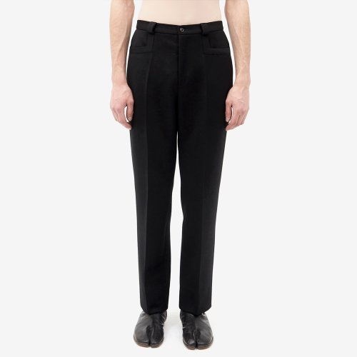 [MAISON MARGIELA/메종마르지엘라] CLASSIC TAILORED WOOL TROUSER BLACK S67KA0004S48842 900