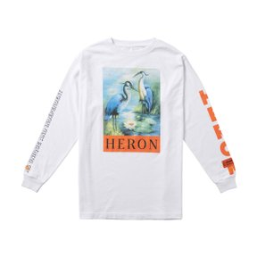 HERONS JERSONE T-SHIRT L/S WHITE