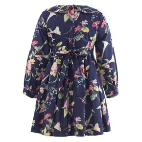 Winter Floral Dress
