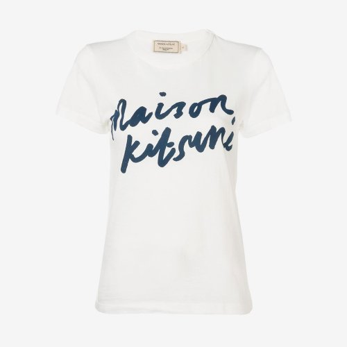 [PRE-ORDER] 20SS TEE-SHIRT HANDWRITING LATTE WOMEN AW00104KJ0005