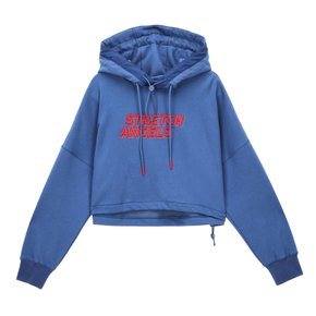 ■SRHD01041■S.A Colorway crop_hoodie_BLUE