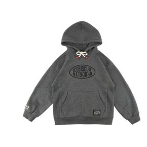 Icebiscuit logo-print cotton hooded sweatshirt
