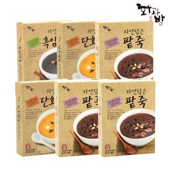 [ 화과방][화과방] 식사대용! 팥죽/호박죽/흑임자죽 3+1 골라담기