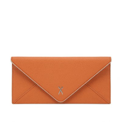 [조셉앤스테이시] Easypass Amante Flat Wallet Long Sand Orange