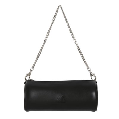 MINI CHAIN LIP BAG BLACK