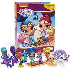 쉬머 앤 샤인 Shimmer and Shine: My Busy Book (Board Book+피규어포함)