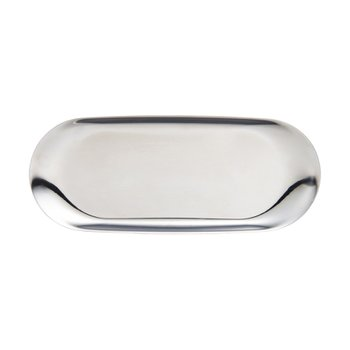 TRAY LARGE SILVER