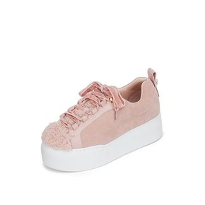 Lovely suede sneakers(pink) _DG4DX20525PIK