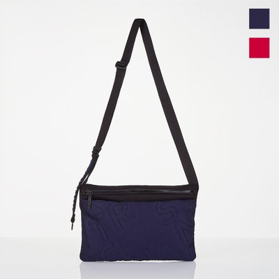 [N.E.O] Basic slim messenger-bag (2color)