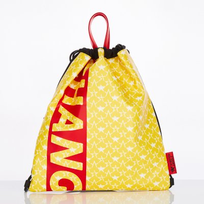 스트레치엔젤스[S.C.F] String easy backpack (Yellow)