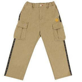 Icebiscuit logo tape point cargo pants