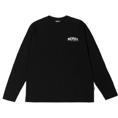 Arch Logo Long Sleeve T-shirt Black