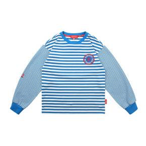Icebiscuit 12 emblem stripe long sleeve tee