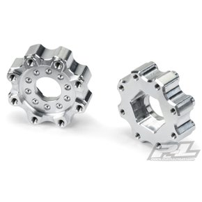 [Pro-Line Racing]AP6356 8x32 to 17mm ZERO Offset Aluminum Hex Adapters for Pro-Line 8x32 3.8 Wheels