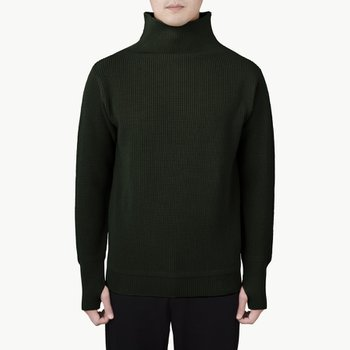 SAILOR TURTLENECK HUNTING GREEN
